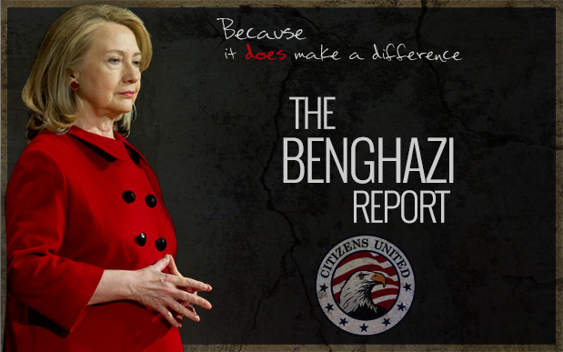 Citizens United's Benghazi Report - Because it DOES make a difference